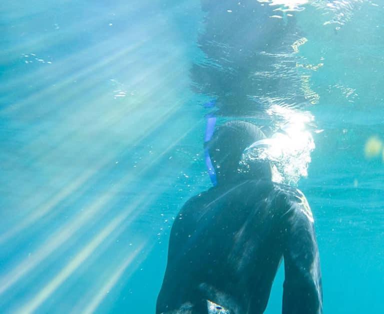 Level 2 Freediving Kurs Auftauchen nach dem Apnoetauchen
