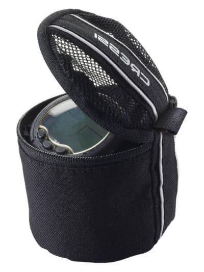Tauchcomputer-Tasche-Etui offen