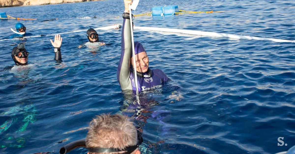 freediving-alenka-artnik-Weltrekord-2020